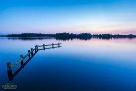Blue Lagoon - Steiger in het Paterswoldse Meer bij Groningen