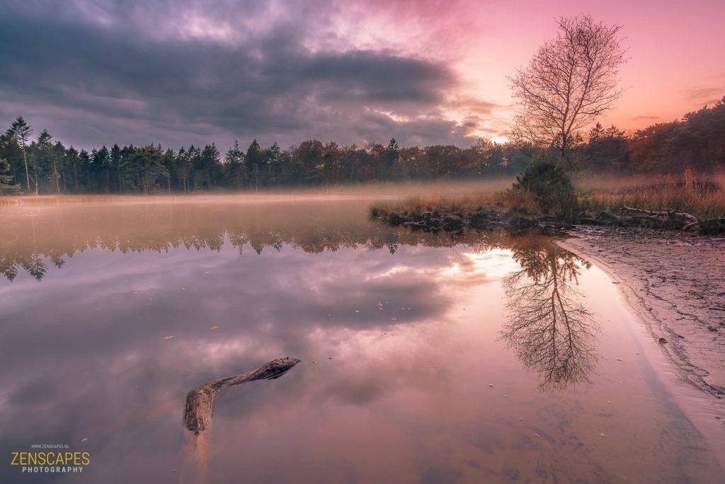 Landschapsfotografie - Fotobewerking Na