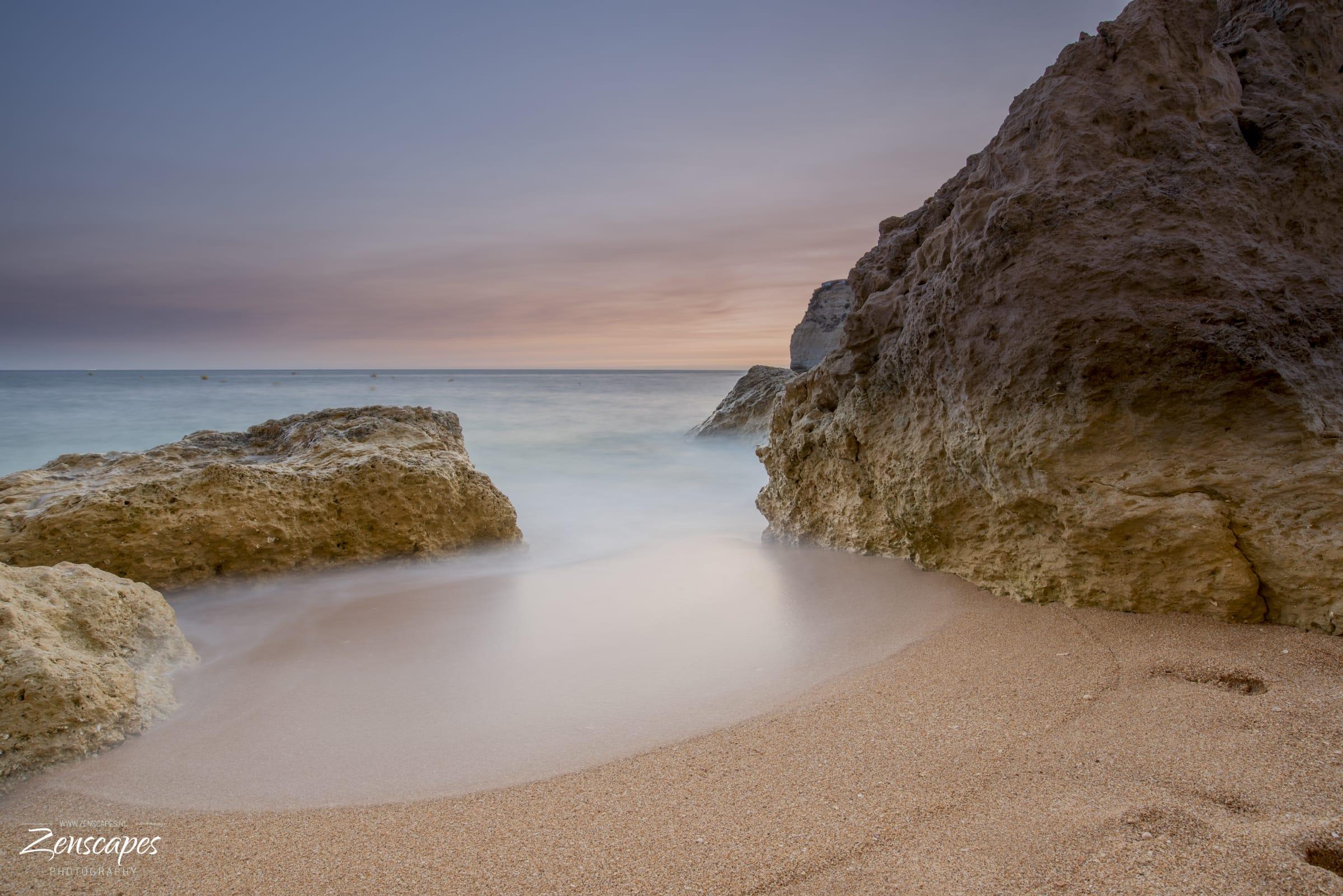 Zonsondergang Praia do Carvoeiro