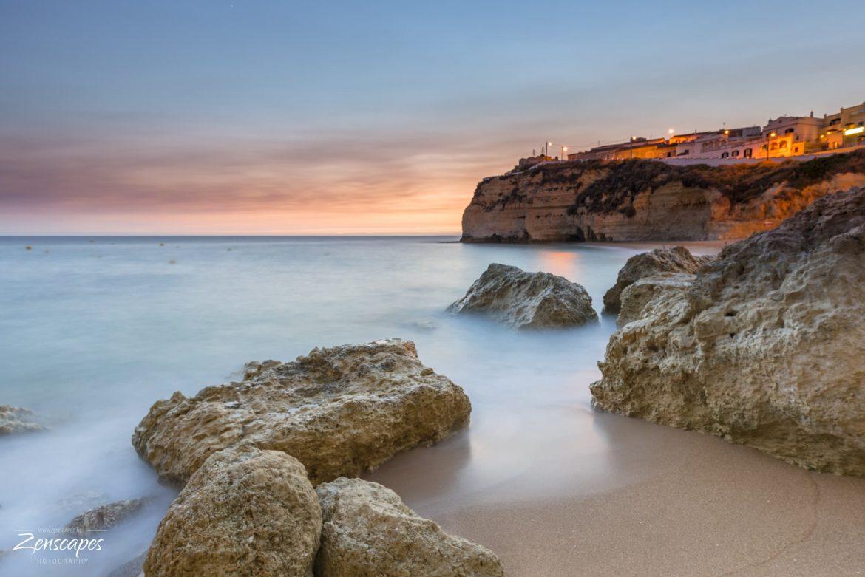 Carvoeiro Portugal - Freezing the waves