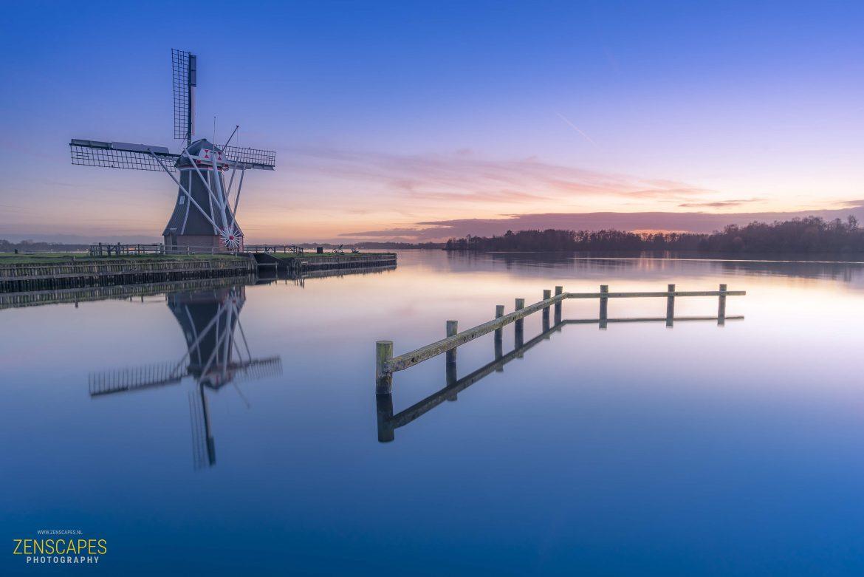 De Helpermolen, aan het Paterswoldse Meer bij Groningen