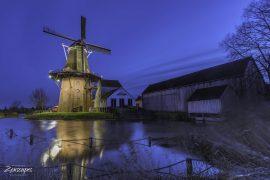 "Molen ""De Zwaluw"" in Burdaard - Fryslân"