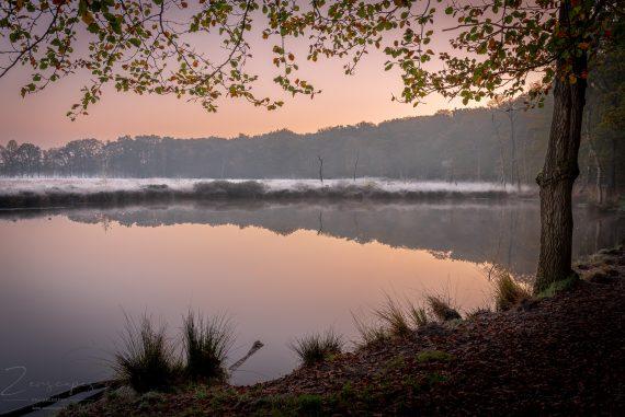 Koude zonsopkomst in de Appelbergen