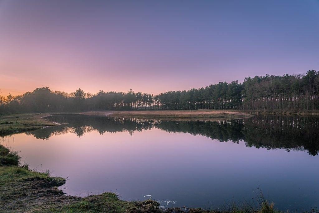 Terschelling - De IJsbaan bij zonsondergang