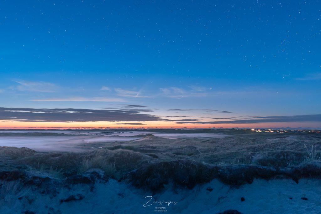 Nachtfotografie - Komeet Neowise boven Terschelling