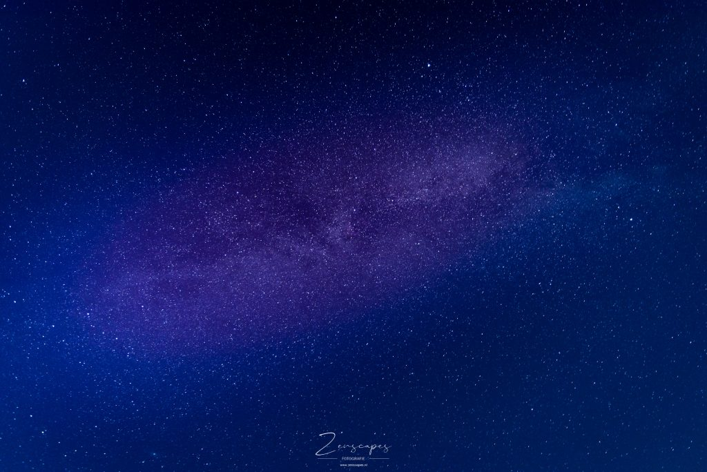 Nachtfotografie - De Melkweg boven Midsland