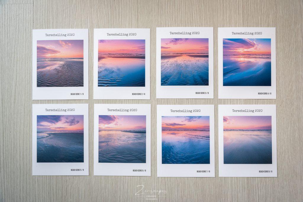 Terschelling in 8 retroprints van de Fotofabriek